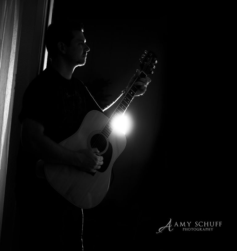 Guitar Photography and Silhouette