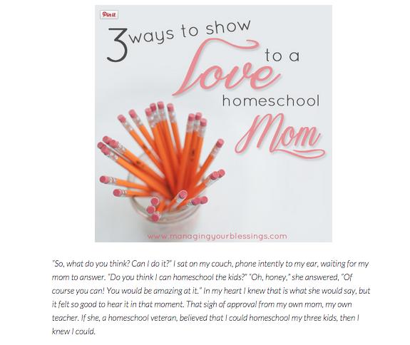 Amy Schuff - Homeschool mom of three