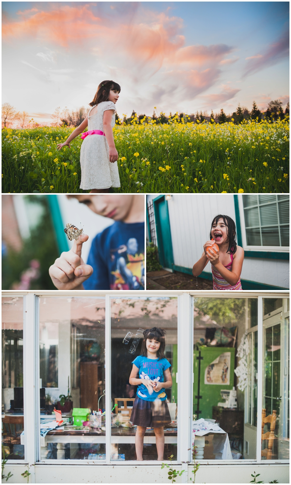 Amy Schuff - Sacramento Family Session at Home