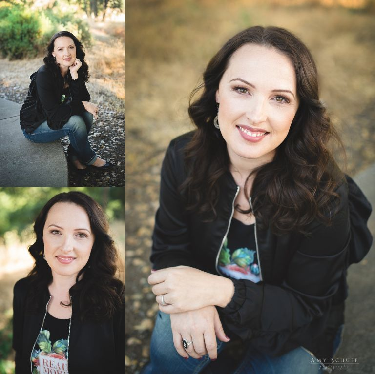 Amy Schuff Photography - Headshot Session in Roseville CA